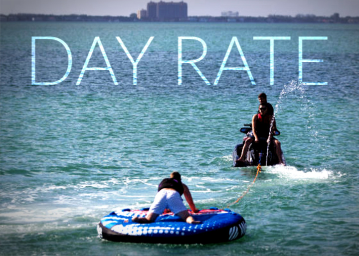 yacht day rate